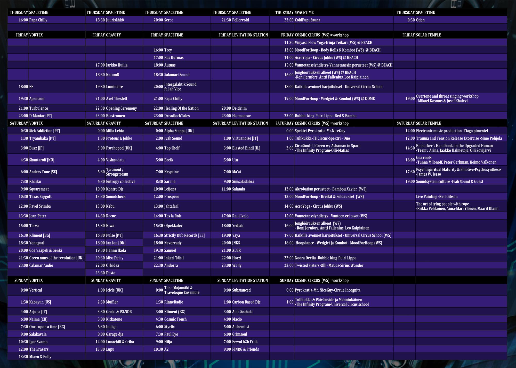 kosmos-2016-timetable